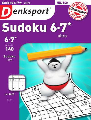 Denksport Sudoku 6-7*  ultra 140