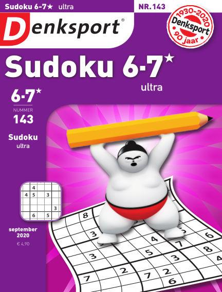 Denksport Sudoku 6-7*  ultra September 10, 2020 00:00