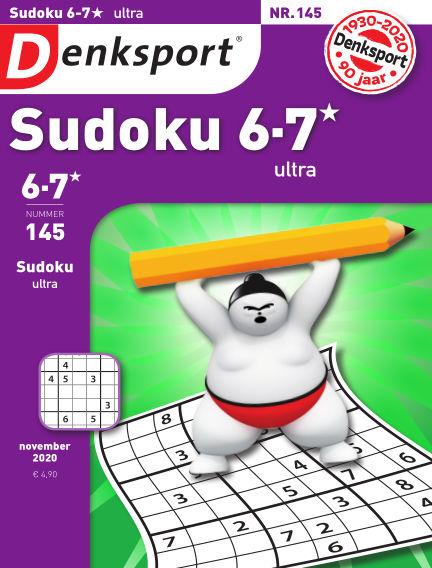 Denksport Sudoku 6-7*  ultra November 05, 2020 00:00