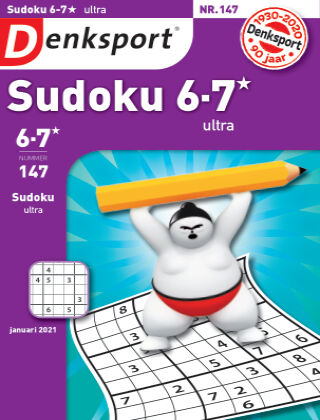 Denksport Sudoku 6-7*  ultra 147