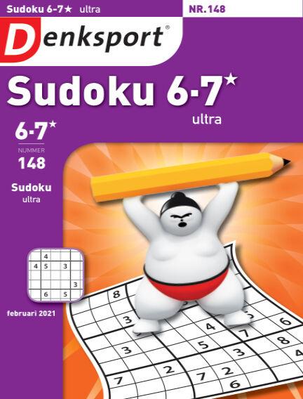 Denksport Sudoku 6-7*  ultra January 28, 2021 00:00