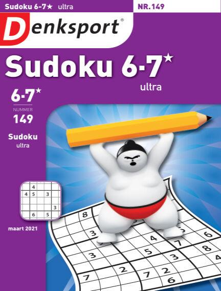 Denksport Sudoku 6-7*  ultra February 25, 2021 00:00