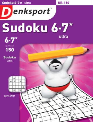 Denksport Sudoku 6-7*  ultra 150