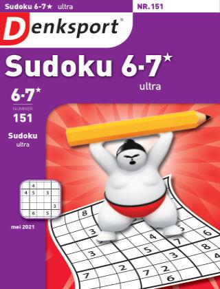 Denksport Sudoku 6-7*  ultra 151