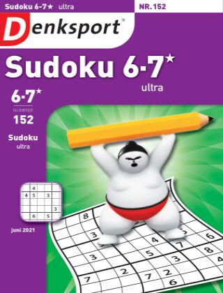 Denksport Sudoku 6-7*  ultra 152