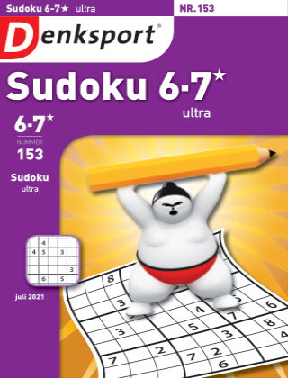 Denksport Sudoku 6-7*  ultra 153