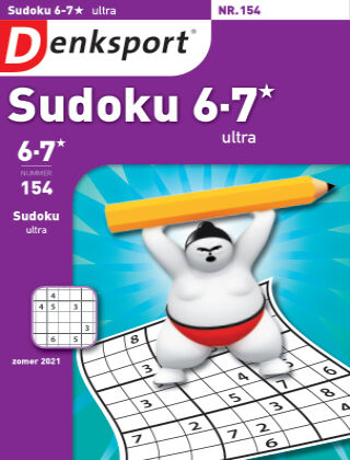 Denksport Sudoku 6-7*  ultra 154