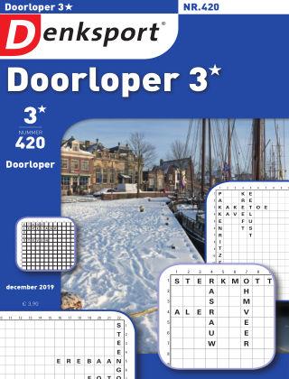 Denksport Doorloper 3* 420