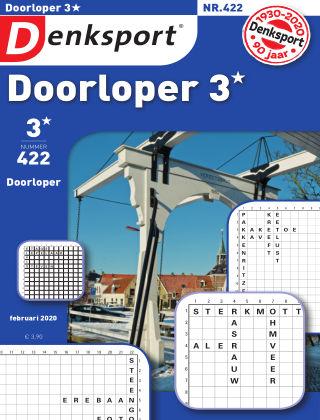 Denksport Doorloper 3* 422