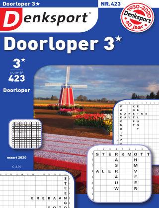 Denksport Doorloper 3* 423