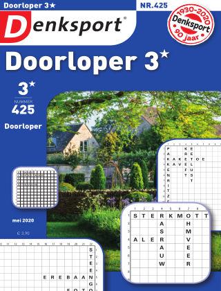 Denksport Doorloper 3* 425