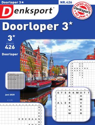 Denksport Doorloper 3* 426