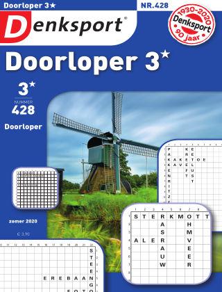 Denksport Doorloper 3* 428