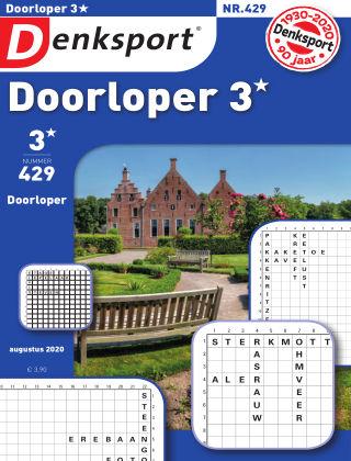 Denksport Doorloper 3* 429