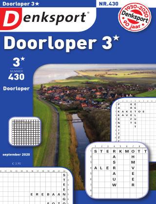 Denksport Doorloper 3* 430
