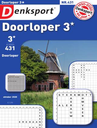Denksport Doorloper 3* 431
