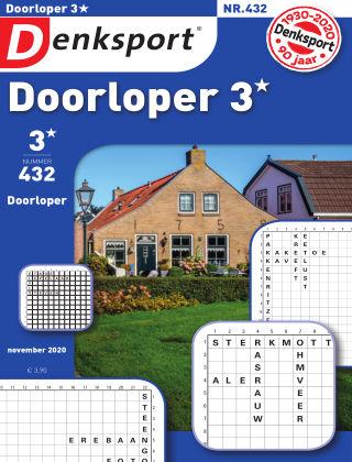 Denksport Doorloper 3* 432