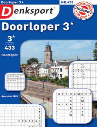 Denksport Doorloper 3* 433