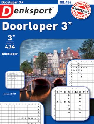Denksport Doorloper 3* 434