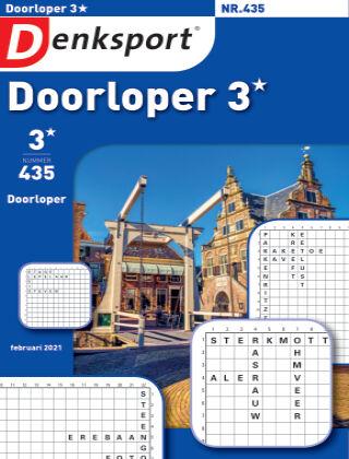 Denksport Doorloper 3* 435