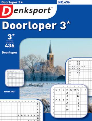Denksport Doorloper 3* 436