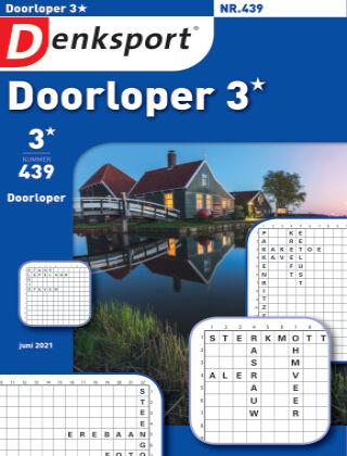 Denksport Doorloper 3* 439