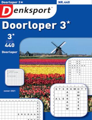 Denksport Doorloper 3* 440