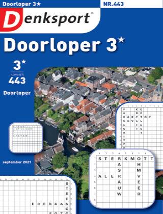 Denksport Doorloper 3* 443