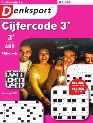 Denksport Cijfercode 3* 409