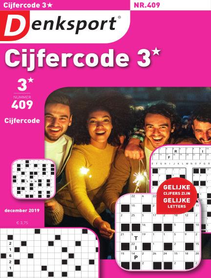 Denksport Cijfercode 3* December 20, 2019 00:00