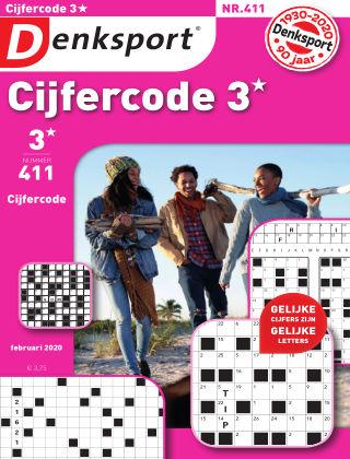 Denksport Cijfercode 3* 411