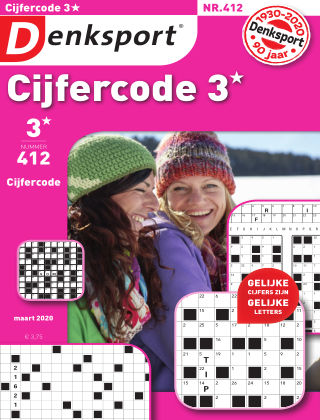 Denksport Cijfercode 3* 412
