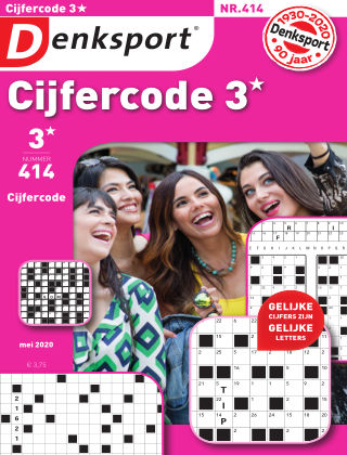Denksport Cijfercode 3* 414