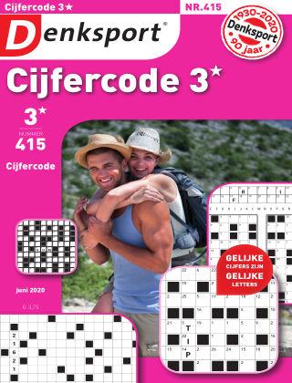 Denksport Cijfercode 3* 415