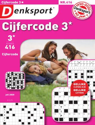 Denksport Cijfercode 3* 416