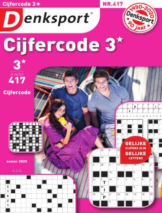 Denksport Cijfercode 3* 417