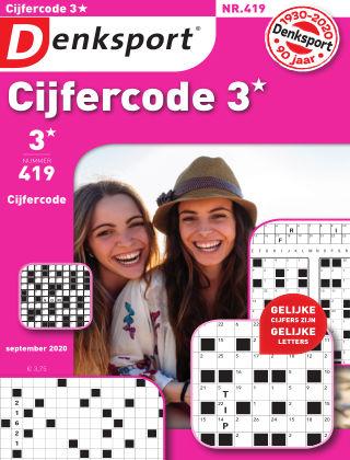 Denksport Cijfercode 3* 419