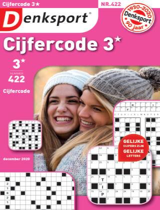 Denksport Cijfercode 3* 422