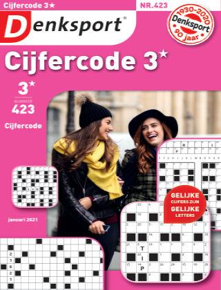 Denksport Cijfercode 3* 423