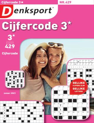 Denksport Cijfercode 3* 429