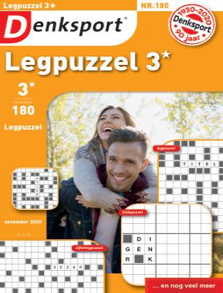 Denksport Legpuzzel 3* 180