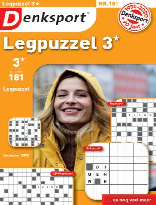 Denksport Legpuzzel 3* 181