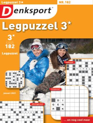 Denksport Legpuzzel 3* 182