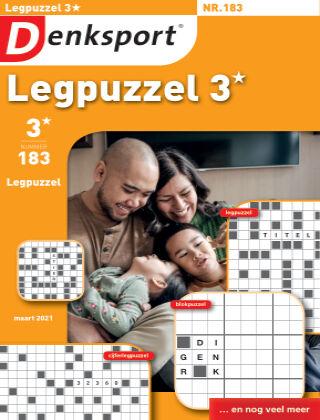 Denksport Legpuzzel 3* 183