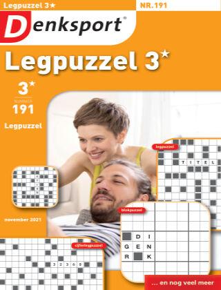 Denksport Legpuzzel 3* 191