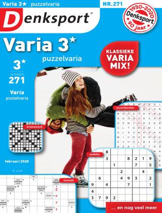 Denksport Varia 3* Puzzelvaria 271