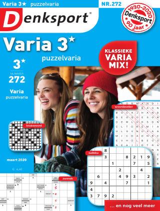 Denksport Varia 3* Puzzelvaria 272