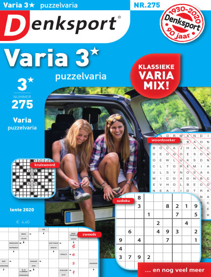 Denksport Varia 3* Puzzelvaria