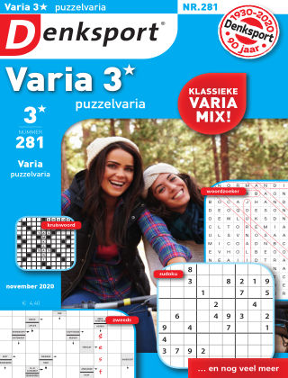 Denksport Varia 3* Puzzelvaria 281