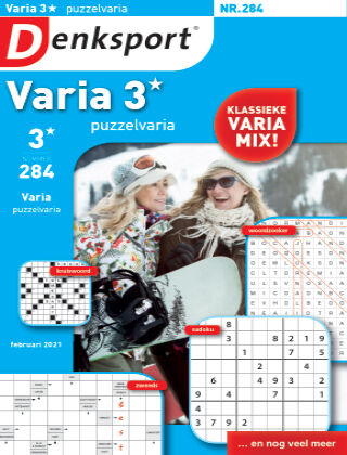 Denksport Varia 3* Puzzelvaria 284